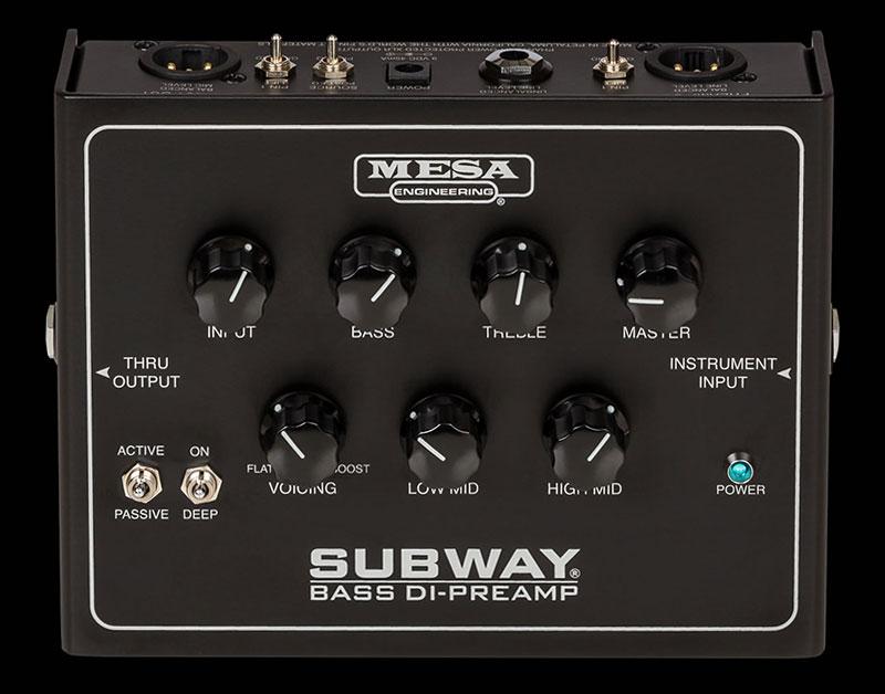 Mesa/Boogie Subway Bass DI-Preamp