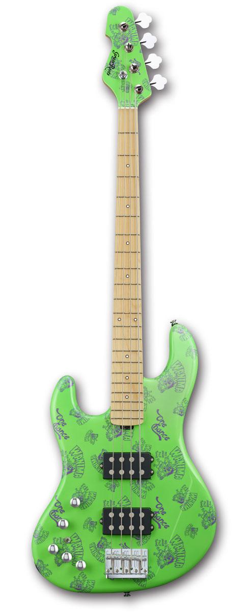 【受注生産】GrassRoots G-助平 Green(LeftHand Model))[WANIMA KENTA Model][グラスルーツ][エレキベース][左利き用]