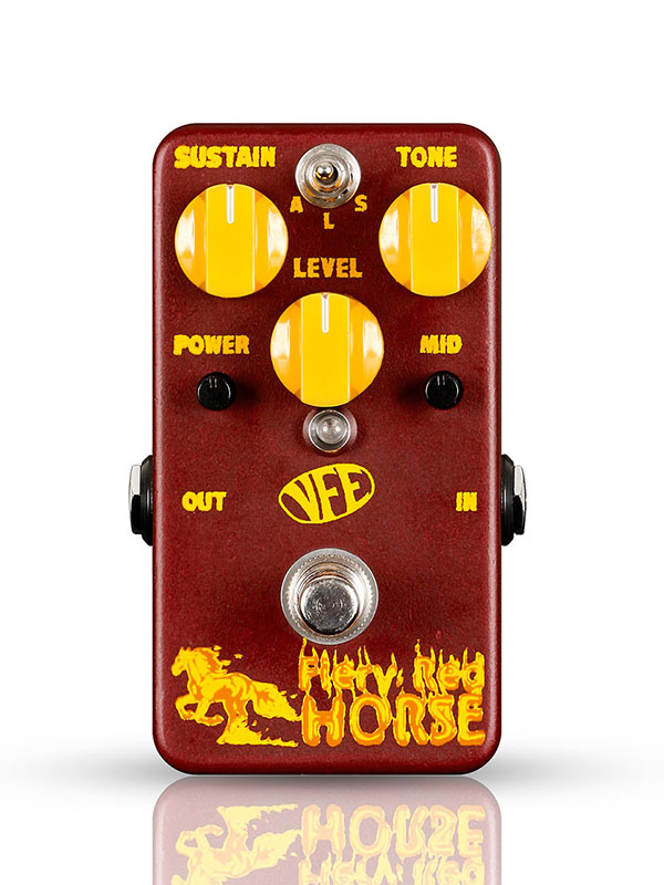 VFE Pedals / Fiery Red Horse