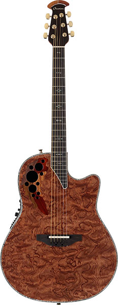 Ovation Collector's Series - C2078AXP Waterfall Bubinga
