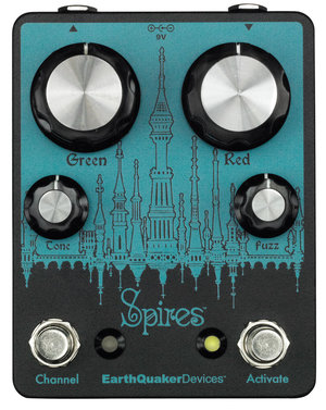 EarthQuaker Devices / Spires Nu Face Double Fuzz