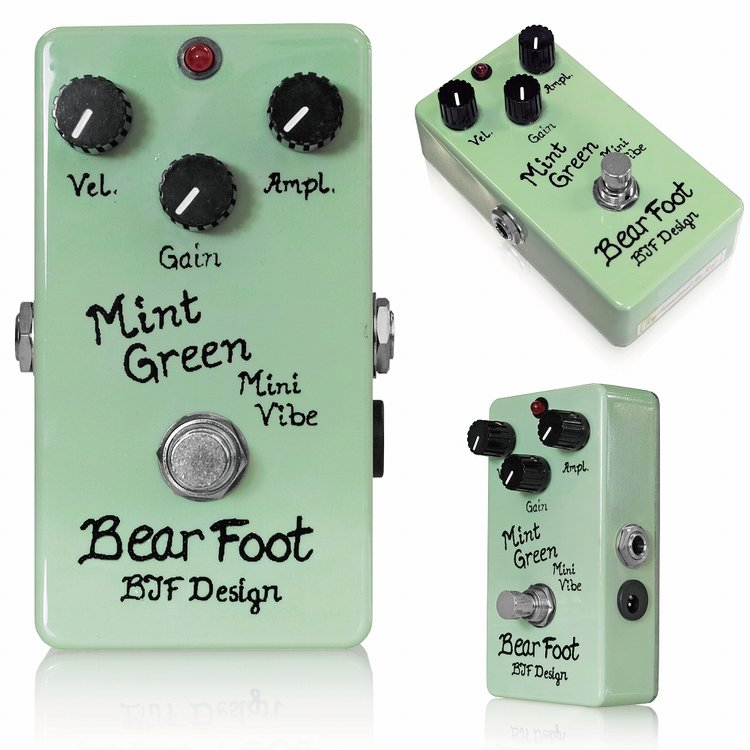 BearFoot Guitar Effects / Mint Green Mini Vibe