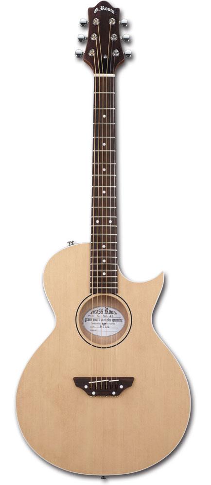 定番 【アコースティックギター Satin】GrassRoots Natural G-AC-45/ G-AC-45 Natural Satin, cocobeau:c1023368 --- rekishiwales.club