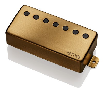 【7弦用】EMG 66-7H / Blushed Gold / Neck(正規輸入品)