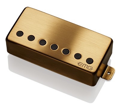 【7弦用】EMG 57-7H / Blushed Gold / Bridge(正規輸入品)