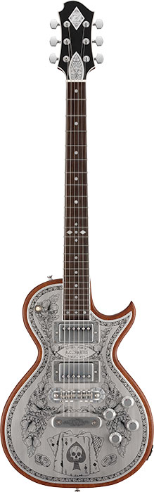 ZEMAITIS A24MF ACES & EIGHTS / Natural [ゼマティス][エレキギター]