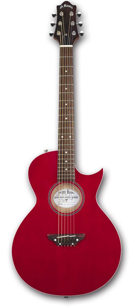 【アコースティックギター】GrassRoots G-AC-45 / See Thru Red