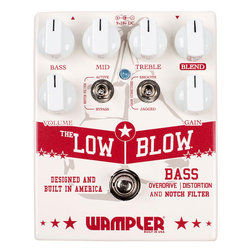 WAMPLER Low Blow – Bass OD/Dist