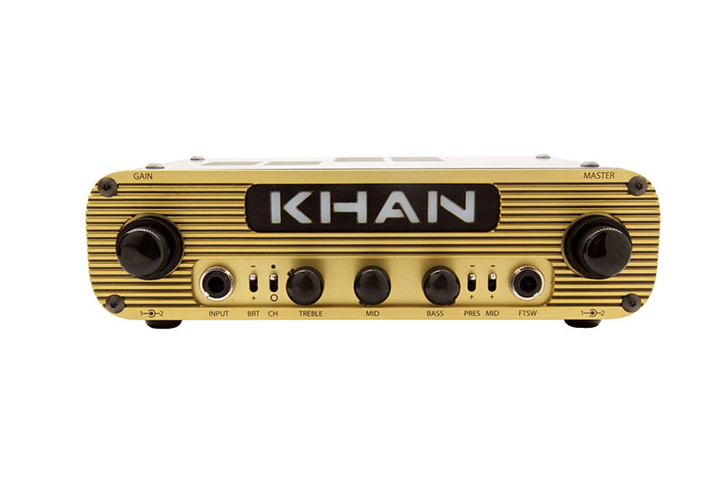 KHAN AUDIO Pak Amp Dual Channel