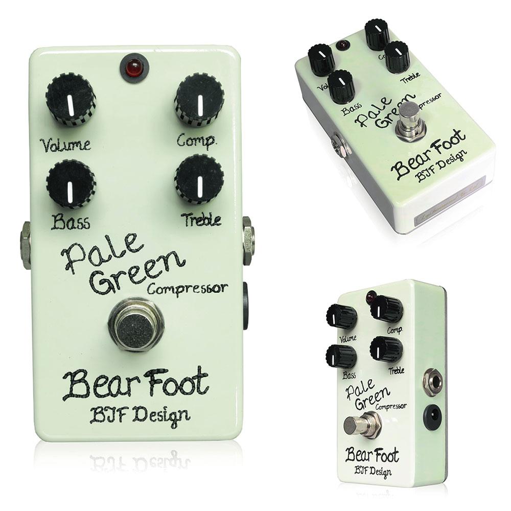 Bearfoot Guitar Effects / Pale Green Compressor 4K