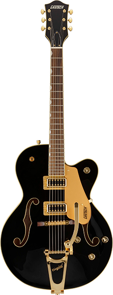 GRETSCH G5420TG-FSR Electromatic Hollow Body Single-Cut with Bigsby Black