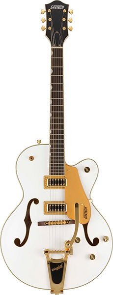 GRETSCH G5420TG-FSR Electromatic Hollow Body Single-Cut with Bigsby White