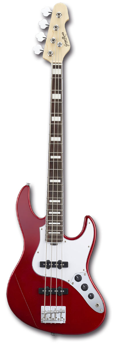 GrassRoots G-AM-55MS/R Candy Apple Red