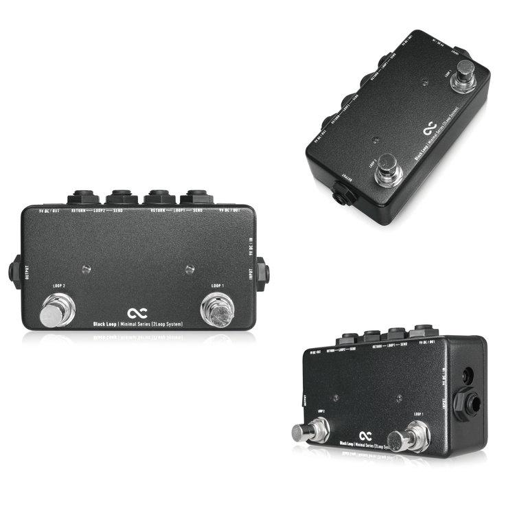 One Control Minimal Series Black Loop - 2 Loop with 2DC OUT