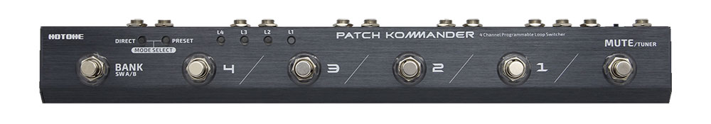 HOTONE / PATCH KOMMANDER LS-10