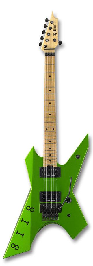 【新製品・受注生産】KG-Prime Signature 8118 Viper Green