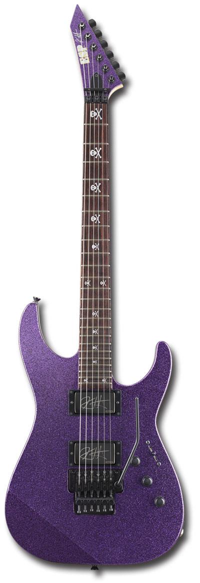 【受注生産】[KIRK HAMMETT METALLICA] ESP KH-2 Purple Sparkle