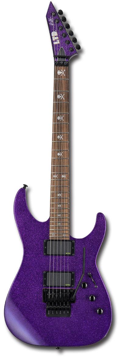 【新製品】[KIRK HAMMETT METALLICA] LTD KH-602 Purple Sparkle