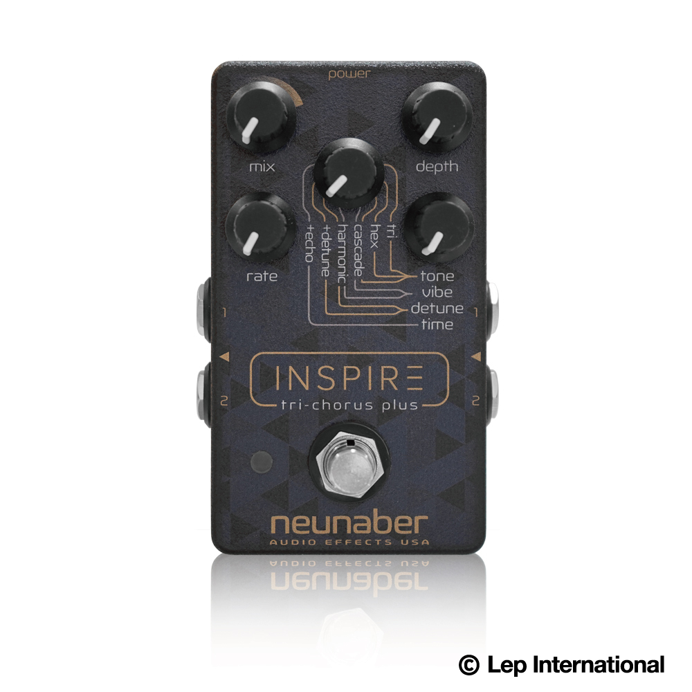 【納期3ヶ月以上】Neunaber Audio Effects / Inspire Tri-Chorus Plus