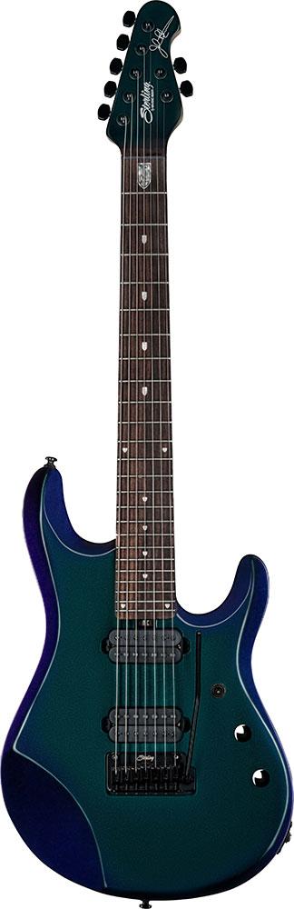 【新製品】Sterling by MUSICMAN John Petrucci Signature Models JP70 Mystic Dream【7弦ギター】