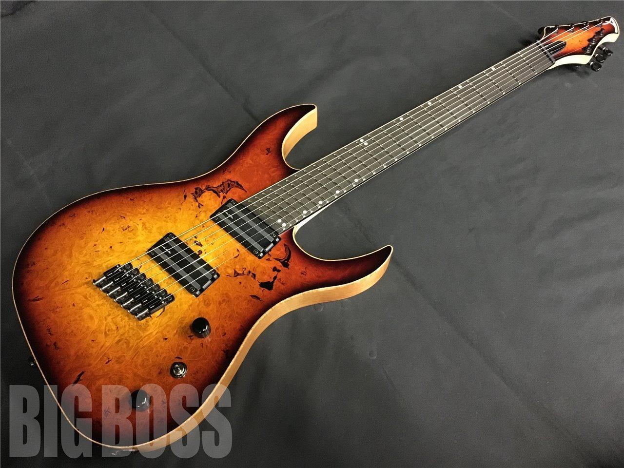 【即納可能】Acacia Guitars Hades 7 Multiscale