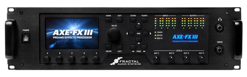 【ご予約商品】Fractal Audio Systems / Axe-Fx III