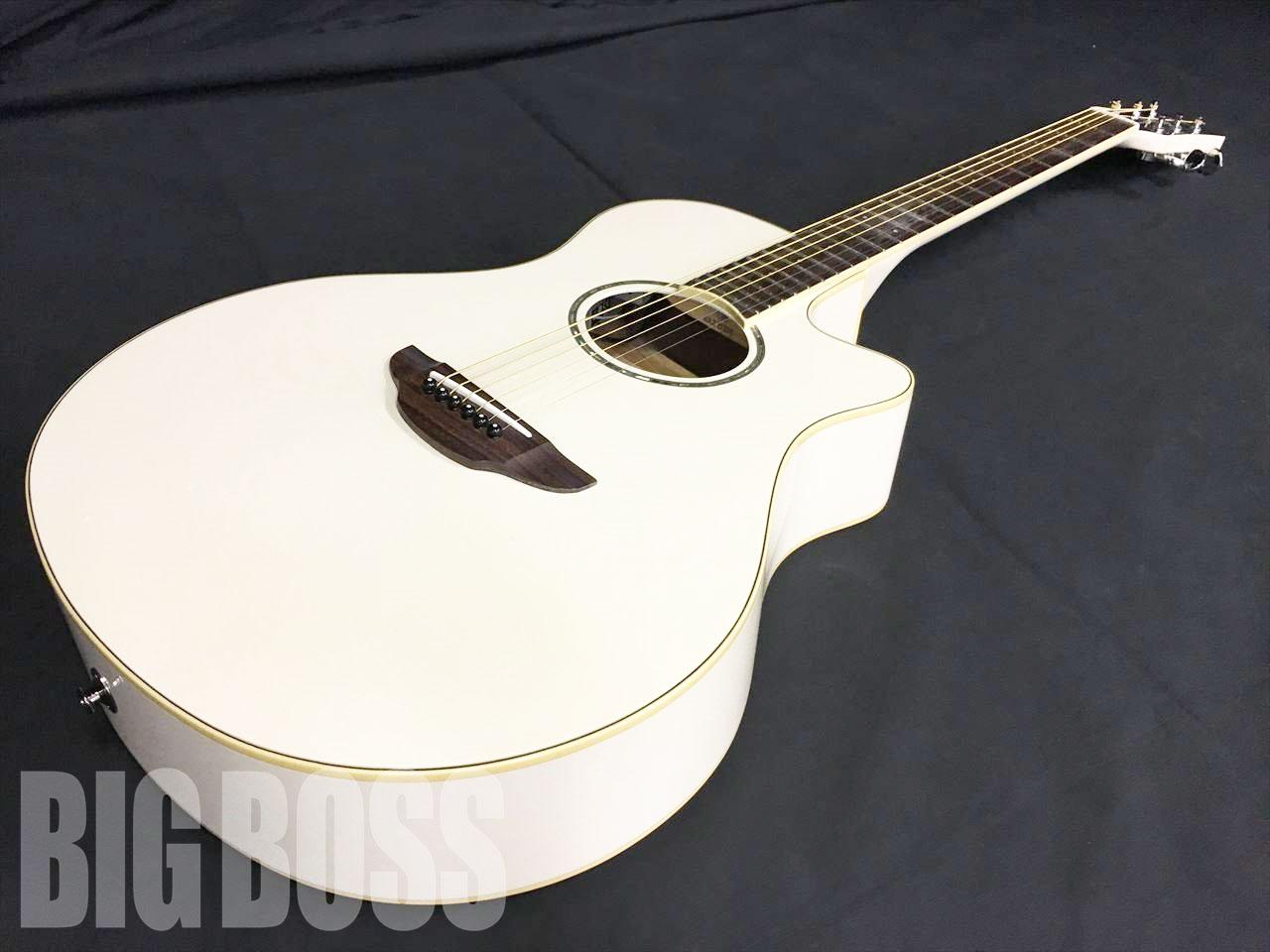 【即納可能】YAMAHA エレアコギター APX600 / Vintage White