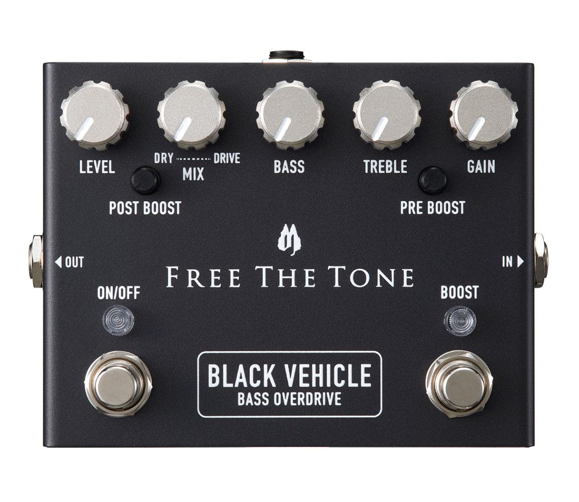 Free The Tone / BLACK VEHICLE BV-1V(ベース用オーバードライブ)