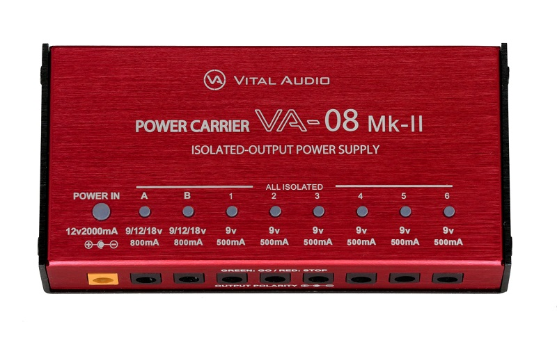 VITAL AUDIO POWER CARRIER VA-08 MkII