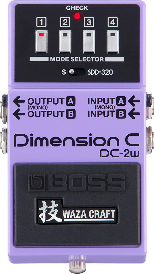 【新製品】BOSS / DC-2W (Dimension C)