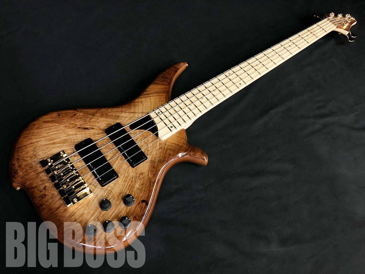 【即納可能】Tune TWB-5 Exotic Burl Maple Top / Alder Back (Brown Burst)