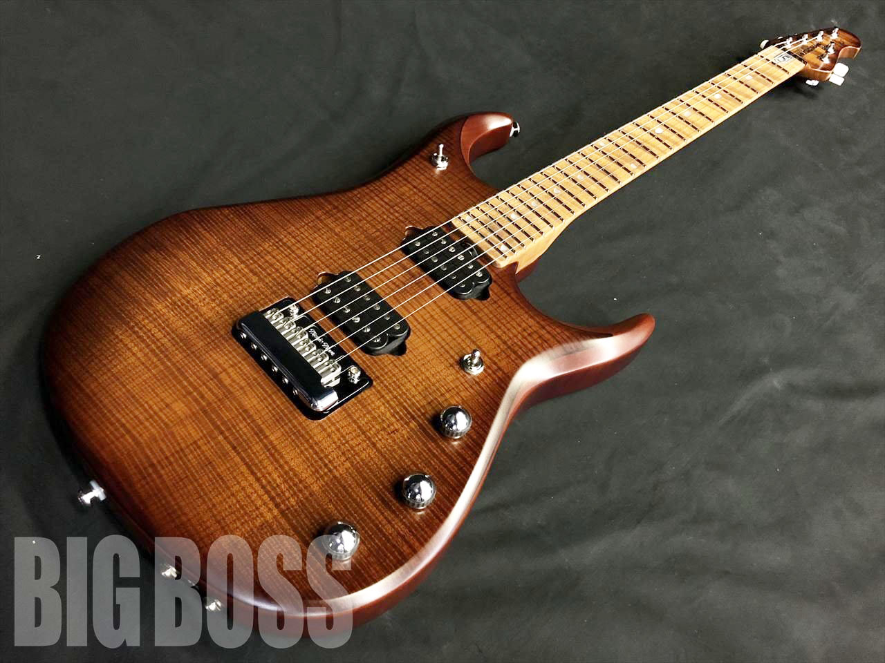 【即納可能】ERNIE BALL MUSIC MAN JP15-6 Flame Top / Shara Burst