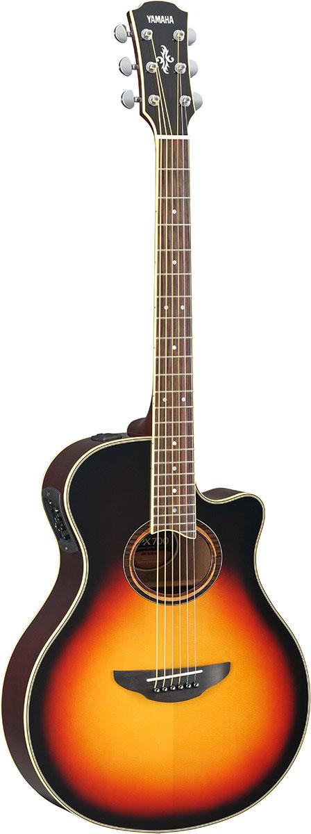 YAMAHA エレアコギター Sunburst APX700II/ APX700II Vintage Vintage Sunburst, ヨウロウグン:087a9234 --- marellicostruzioni.it