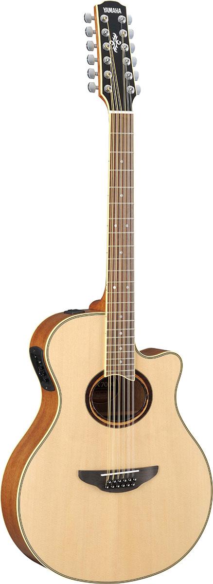 【メーカーお取り寄せ品】YAMAHA エレアコギター APX700II-12 / Natural