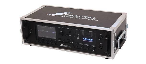 【ご予約商品・11月中旬予定】FRACTAL AUDIO SYSTEMS3U Rack Case