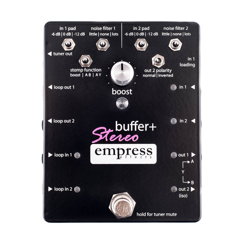 Empress Effects / buffer+ STEREO