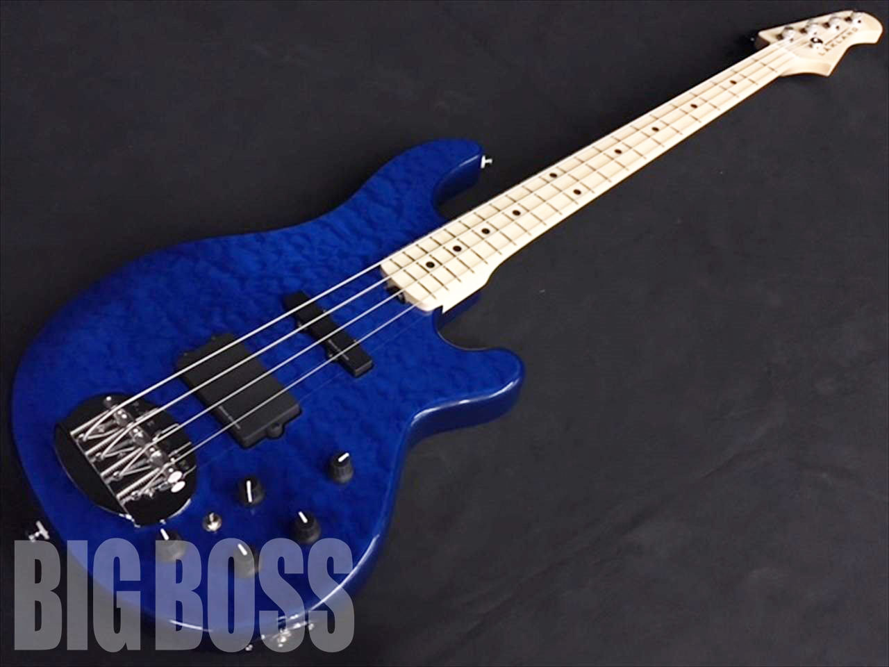 【即納可能】LAKLAND SK-4DX Blue Translucent / Maple