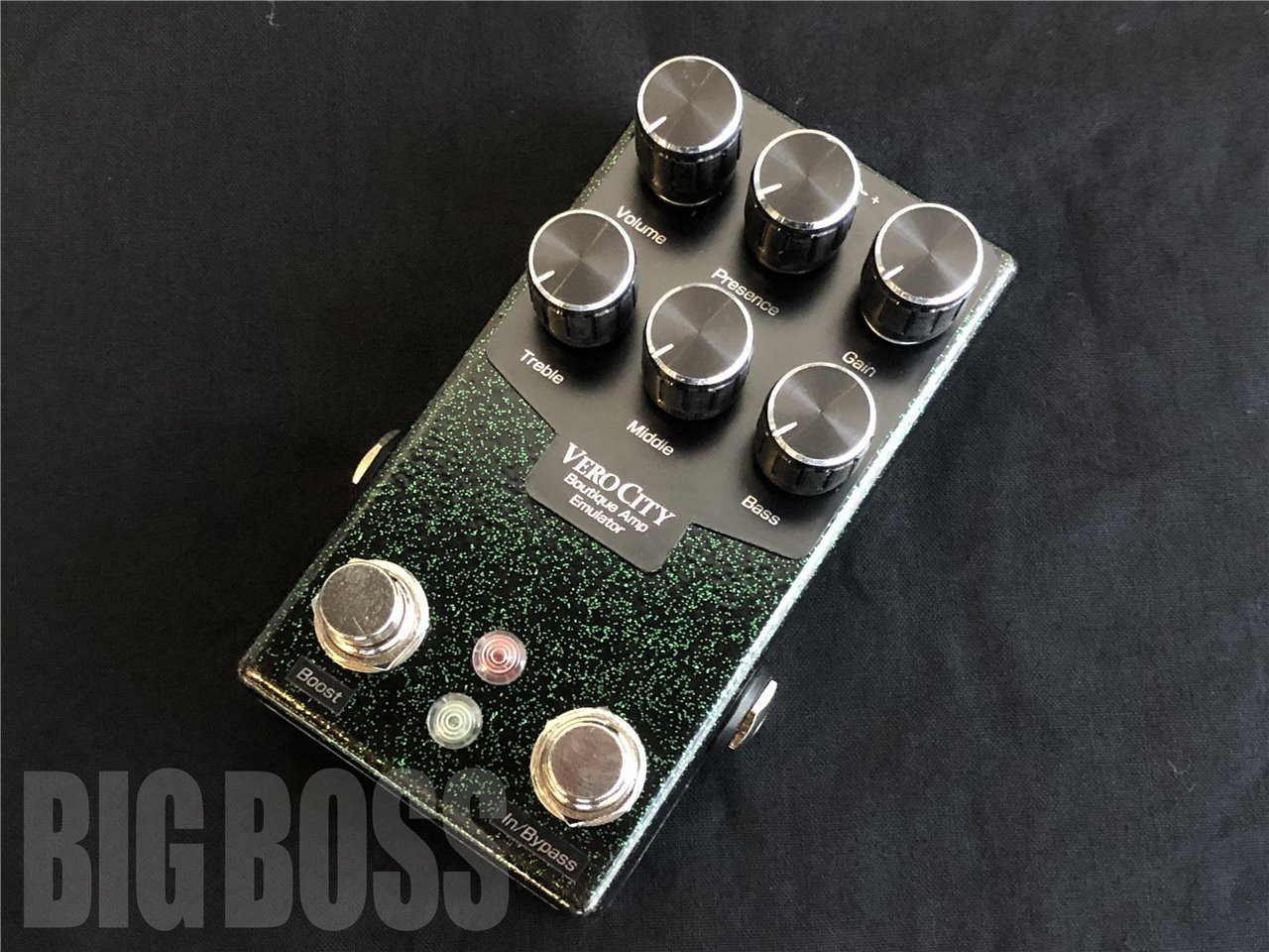 【受注生産】VeroCity Effects Pedals Rev.F-B2 / Devil Emerald