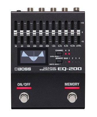 【新発売】BOSS / EQ-200
