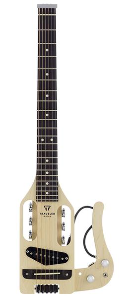 【ミニギター】Traveler Guitar Pro-Series Natural Satin Finish
