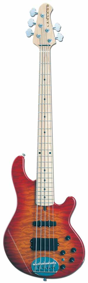 LAKLAND SL55-94 Deluxe/M-CHS [レイクランド][5弦][エレキベース][国産,MADE IN JAPAN][チェリーサンバースト]