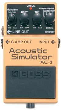 BOSS / Acoustic Simulator AC-3