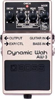【まとめ買い】 BOSS/ Wah Dynamic/ AW-3 Wah AW-3, マイハート:4386178d --- canoncity.azurewebsites.net