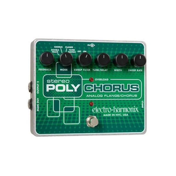 electro-harmonix / Stereo PolyChorusアナログ・コーラス/フランジャー
