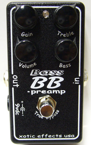 XOTIC / BASS BB-preamp
