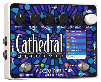 electro-harmonix / Cathedral ステレオリバーブ