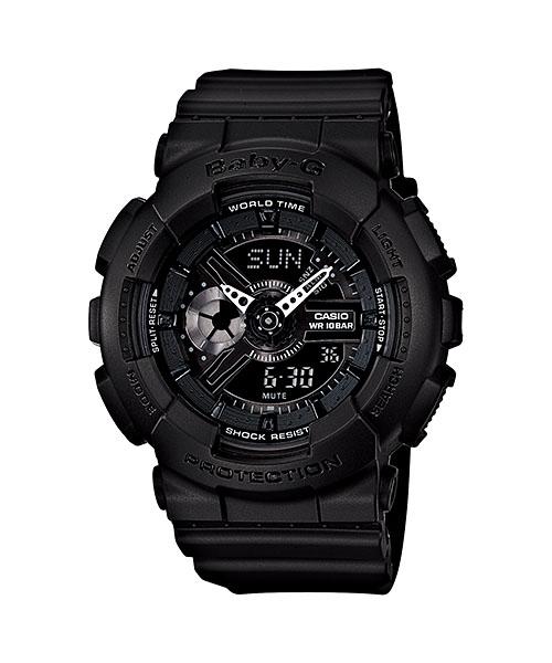 サイズ調整無料 国内正規品 メーカー再生品 CASIO BABY-G 直営限定アウトレット カシオ BA-110BC-1AJF ベビーG ペアデザイン レディース腕時計