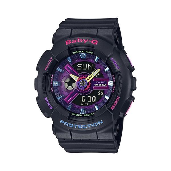 【最大10,000円引き♪お盆限定クーポン配布中】国内正規品 CASIO BABY-G カシオ ベビーG デコラスタイル ブラック カラフル レディース腕時計 BA-110TM-1AJF
