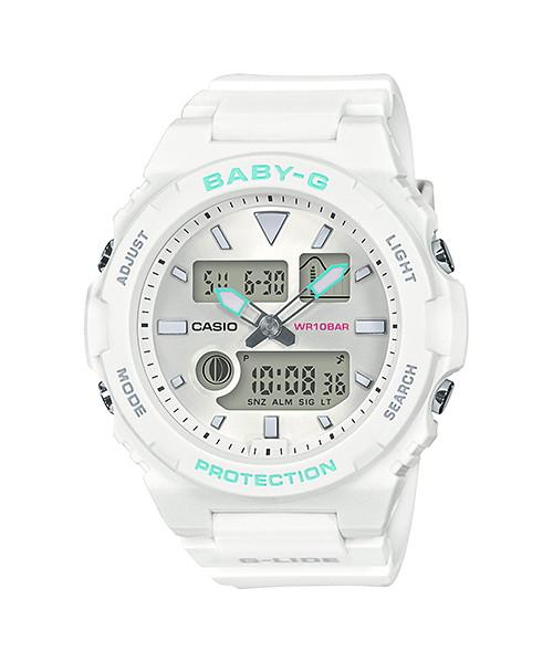 国内正規品 CASIO BABY-G カシオ ベビーG G-LIDE 薄型モデル レディース腕時計 BAX-100-7AJF