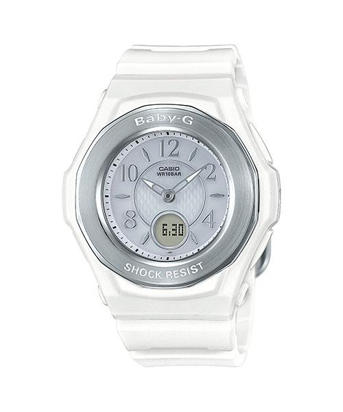 国内正規品 CASIO BABY-G カシオ ベビーG 電波ソーラー レディース腕時計 BGA-1050-7BJF